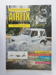 AIRFIX  AIRFIX MAGAZINE VOLUME 02 NUMBER 04 MAY 1990