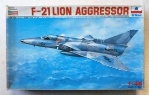 ESCI 1/48 4082 F-21 LION AGGRESSOR