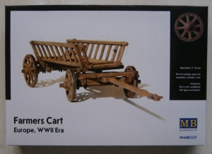 MASTERBOX 1/35 3537 FARMERS CART EUROPE WWII ERA