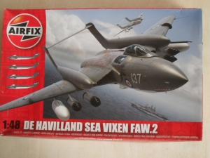 AIRFIX 1/48 11002 DE HAVILLAND SEA VIXEN FAW.2