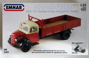 EMHAR 1/24 2401 BEDFORD QLBD 5 TON LWB DROPSIDE