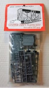 COOPER CRAFT OO 1010 GWR CATTLE WAGON W1/W5