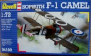 REVELL 1/72 04190 SOPWITH F-1 CAMEL