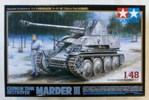 TAMIYA 1/48 32560 GERMAN TANK DESTROYER MARDER III
