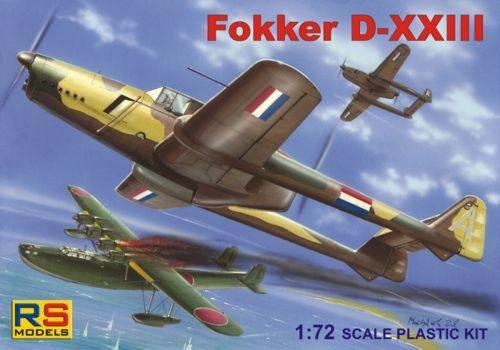 RS MODELS 1/72 92081 Fokker D-XXIII