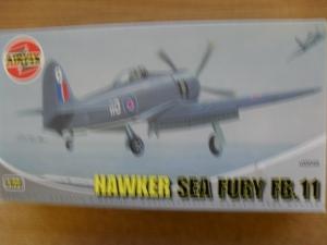 AIRFIX 1/72 02045 HAWKER SEA FURY FB.11