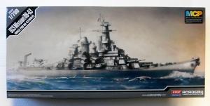 ACADEMY 1/700 14222 USS MISSOURI BB-63