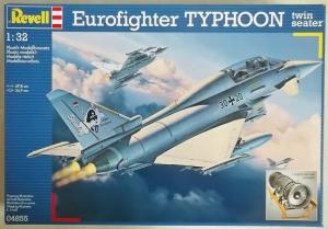 REVELL 1/32 04855 EUROFIGHTER TYPHOON TWIN SEATER