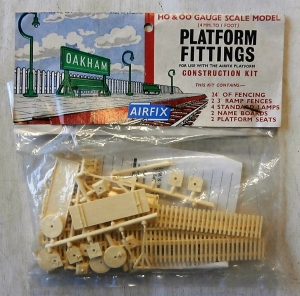 AIRFIX HO/OO 4012 PLATFORM FITTINGS TYPE II BAG