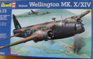 REVELL 1/72 04601 VICKERS WELLINGTON Mk.X/XIV