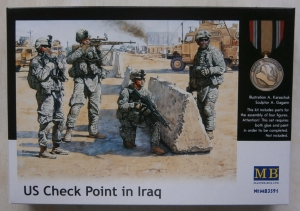 MASTERBOX 1/35 3591 US CHECK POINT IN IRAQ