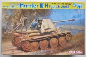 DRAGON 1/35 6420 MARDER III H Fgst. 38t Ausf.E