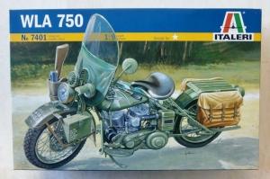 ITALERI 1/9 7401 WLA 750 WWII HARLEY DAVIDSON