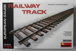 MINIART 1/35 35561 RAILWAY TRACK EUROPEAN GAUGE