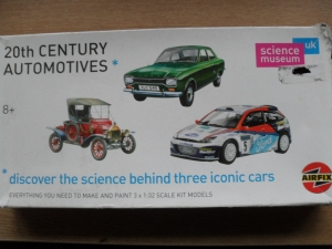 AIRFIX 1/32 50058 20th CENTURY AUTOMOBILES