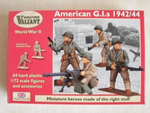 VALIANT MINIATURES 1/72 003 WWII AMERICAN G.I.s