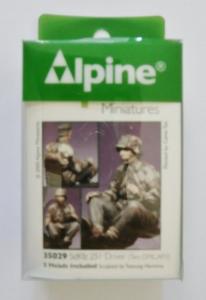 ALPINE MINIATURES 1/35 35029 Sd.Kfz 251 DRIVER