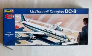 REVELL 1/144 H240 DC-8 UNITED