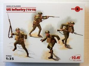 ICM 1/35 35693 US INFANTRY  1918