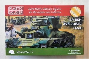 PLASTIC SOLDIER 1/72 WW2V20023 BRITISH A9 CRUISER TANK