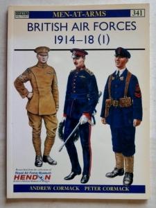 OSPREY  341. BRITISH AIR FORCES 1914-18  1