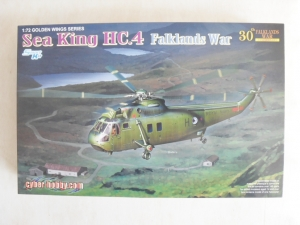 CYBER-HOBBYCOM 1/72 5073 SEA KING HC.4 FALKLANDS WAR