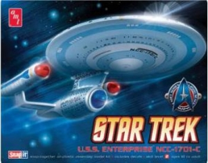 AMT OTHER SCALE 661 STAR TREK USS ENTERPRISE NCC-1701-C 1/2500