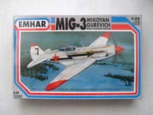 EMHAR 1/72 2001 MiG-3