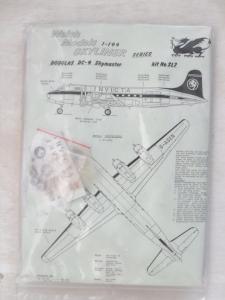WELSH MODELS 1/144 SL7 DOUGLAS DC-4 SKYMASTER INVICTA
