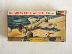 REVELL 1/72 H639SFB GRUMMAN F4F-4 WILDCAT