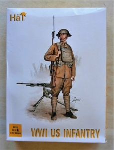 HAT INDUSTRIES 1/72 8112 WWI US INFANTRY