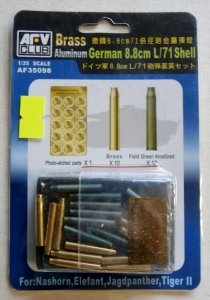 AFV CLUB 1/35 35098 GERMAN 8.8cm L/71 SHELL