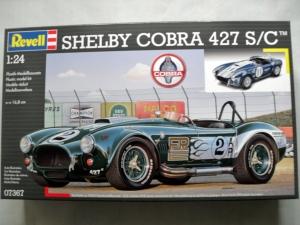 REVELL 1/24 07367 SHELBY COBRA 427 S/C
