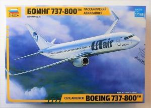 ZVEZDA 1/144 7019 BOEING 737-800 CIVIL AIRLINER
