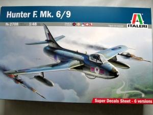 ITALERI 1/48 2708 HUNTER F. Mk. 6/9
