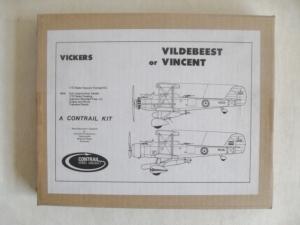 CONTRAIL 1/72 VICKERS VILDEBEEST or VINCENT