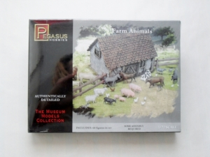 PEGASUS HOBBIES 1/72 7052 FARM ANIMALS