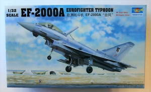 TRUMPETER 1/32 02278 EF-2000A EUROFIGHTER TYPHOON  UK SALE ONLY