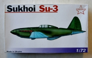 INTERAVIA 1/72 SUKHOI Su-3