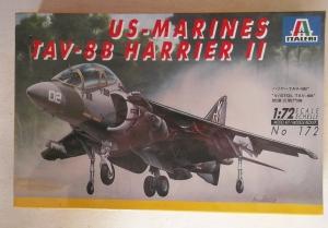 ITALERI 1/72 172 US MARINES TAV-8B HARRIER II