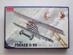 RODEN 1/72 029 FOKKER D.VII OAW MID