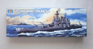 TRUMPETER 1/700 05735 USS WASHINGTON BB-56