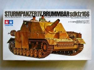 TAMIYA 1/35 35077 STURMPANZER IV BRUMMBAR Sd.Kfz.166