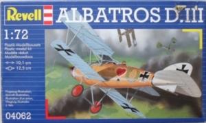 REVELL 1/72 04062 ALBATROS D.III