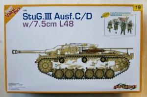 CYBER-HOBBYCOM 1/35 9119 StuG III Ausf.C/D w/7.5cm L/48