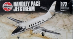 AIRFIX 1/72 03012 HANDLEY PAGE JETSTREAM