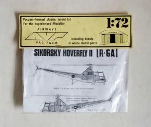 AIRWAYS VACFORM 1/72 SIKORSKY HOVERFLY II  R-6A