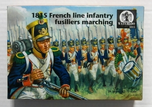 WATERLOO 1/72 AP061 1815 FRENCH LINE INFANTRY FUSILIERS MARCHING