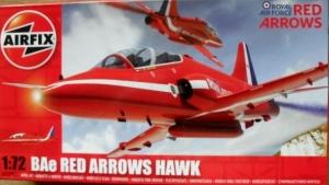 AIRFIX 1/72 02005 BAe RED ARROWS HAWK