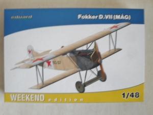 EDUARD 1/48 84156 FOKKER D.VII MAG WEEKEND EDITION